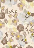 Seamless flowers pattern Royalty Free Stock Image