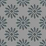 Seamless Flowers Pattern Stock Image