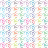Seamless flowery design Stock Images