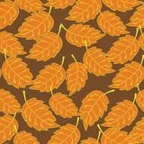 Seamless foliage pattern Stock Photo