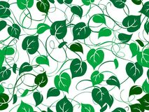 Seamless foliage pattern Royalty Free Stock Photo