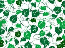 Seamless foliage pattern royalty free stock photo