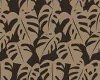 Seamless Foliage Pattern Stock Photography