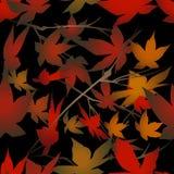 Seamless foliage pattern Royalty Free Stock Image