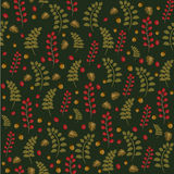 Seamless foliage pattern background Stock Photo