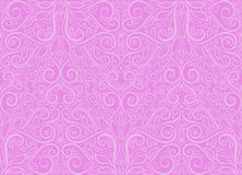 Seamless foliate violet pattern Stock Photos