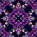 Seamless  folk pattern Stock Image