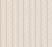 Seamless  folk pattern. Vertical twigs lines and zigzags with circles background. Hand drawn abstract branch illustration Royalty Free Stock Photography