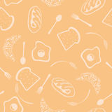 Seamless food background. This graphic is abstract food background Royalty Free Stock Image