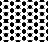 Seamless football pattern, vector Royalty Free Stock Images