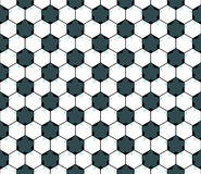 Seamless football star pattern. EPS 8 Stock Photography