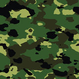 Seamless forest camo Royalty Free Stock Photo