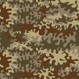 Seamless Forest Camouflage Stock Images
