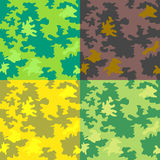 Seamless forest patterns Stock Photography