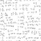 Seamless formula background Stock Image