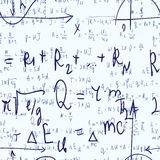 Seamless formula background Stock Photo