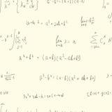 Seamless formula background Stock Photos