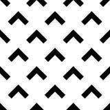 Seamless forward arrow pattern on white Stock Photos