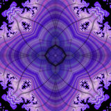 Seamless fractal pattern Royalty Free Stock Photos
