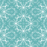 Seamless fractal pattern simulating frost on window Royalty Free Stock Images