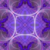 seamless fractalmodell Royaltyfri Foto