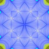 seamless fractalmodellupprepning Arkivfoto