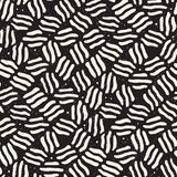 Seamless freehand pattern. Vector abstract rough lines background. Hand drawn strokes. Seamless freehand pattern. Vector abstract rough lines background. Hand Stock Image