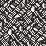 Seamless freehand pattern. Vector abstract rough lines background. Hand drawn strokes. Royalty Free Stock Photo