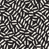 Seamless freehand pattern. Vector abstract rough lines background. Hand drawn strokes. Stock Photos