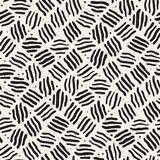 Seamless freehand pattern. Vector abstract rough lines background. Hand drawn strokes. Royalty Free Stock Images