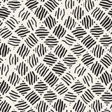 Seamless freehand pattern. Vector abstract rough lines background. Hand drawn strokes. Stock Images