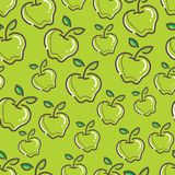 Seamless Fresh apple Pattern colorful. Seamless Fresh Apple Pattern, simple and colorful. gives a calming impression Royalty Free Stock Photos