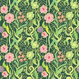 Seamless fresh vector pattern pattern. Royalty Free Stock Images