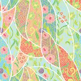 Seamless fresh vector pattern pattern. Stock Photography