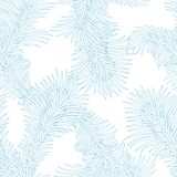 Seamless frost ice pattern. Abstract winter Stock Images