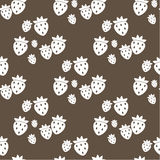 Seamless fruit pattern Stock Photos