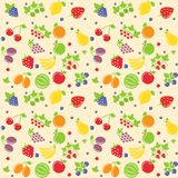 Seamless fruit texture Royalty Free Stock Images
