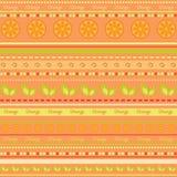 Seamless fruit wallpaper Stock Photo