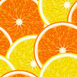 Seamless from fruits. Seamless of the half of fruits(can be repeated and scaled in any size) Clipping Mask Stock Photos