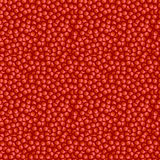 Seamless fruits vector pattern, bright red background with pomegranates seeds Stock Image