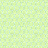 Seamless fruits vector pattern, light pastel symmetrical background, limes over green backdrop Royalty Free Stock Photography