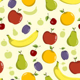 seamless fruktmodell Royaltyfri Foto