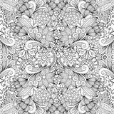 Seamless full frame kaleidoscope decoration Stock Images