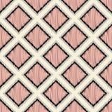 Seamless fun rhombus tiles wallpaper Stock Images