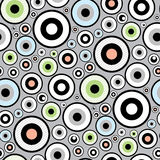 Seamless Funky Wallpaper Pattern Royalty Free Stock Photos