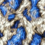 Seamless Fur Fabric Texture. A completely seamless soft faux fur animal print fabric royalty free stock photos
