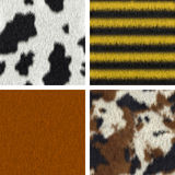 Seamless Fur Textures Stock Photography