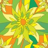seamless fyrkant för eps-blommamodell stock illustrationer