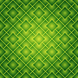 seamless fyrkanter för grön modell Royaltyfri Foto