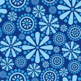 Seamless fyrverkeribakgrund för abstrakt blomma Arkivfoto